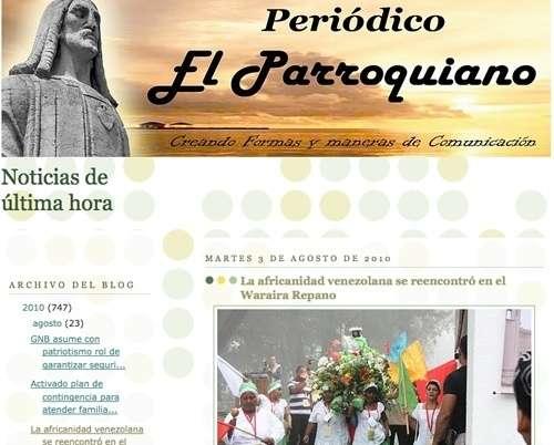 http://elparroquianoultimahora.blogspot.com/2010/08/la-africanidad-venezolana-se-reencontro.html