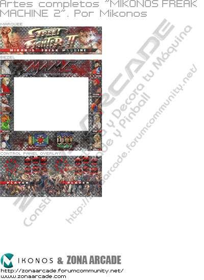 "Artes completos ""Mikonos Freak´s Machine 2"""