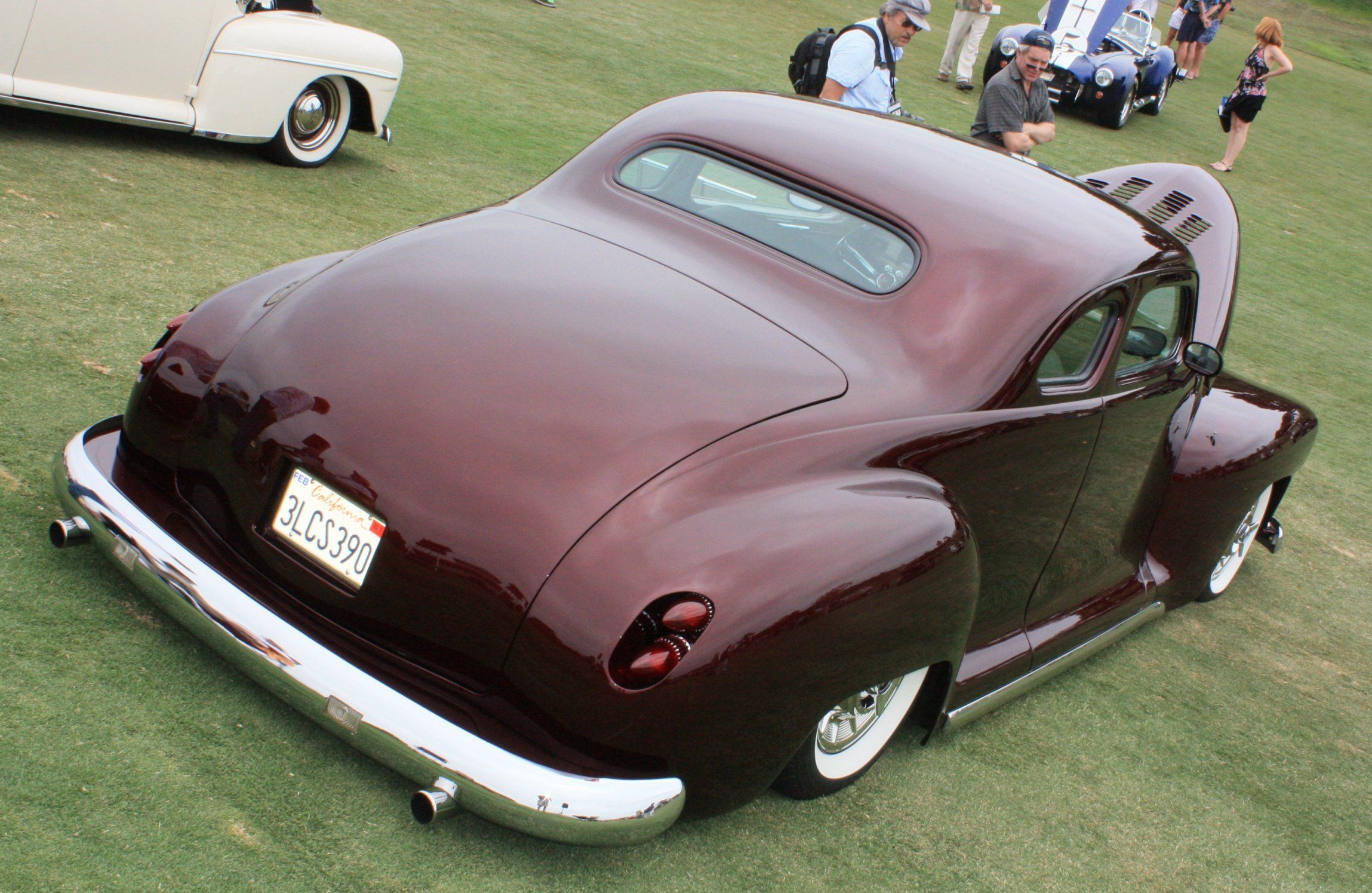 Power Cars Plymouth Business Coupe Custom 1948 1941 Pro Street