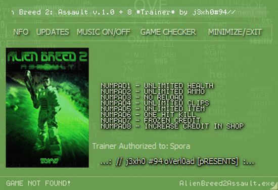 alienbreed2trainer Alien Breed 2: Assault +8 Trainer